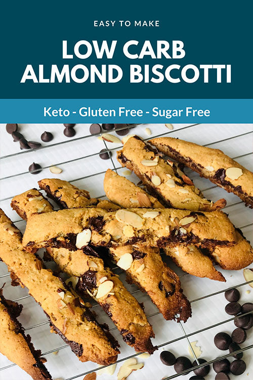 LOW CARB ALMOND BISCOTTI