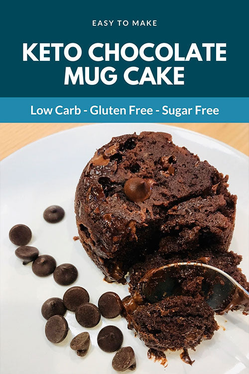 DECADENT CHOCOLATE MUG CAKE