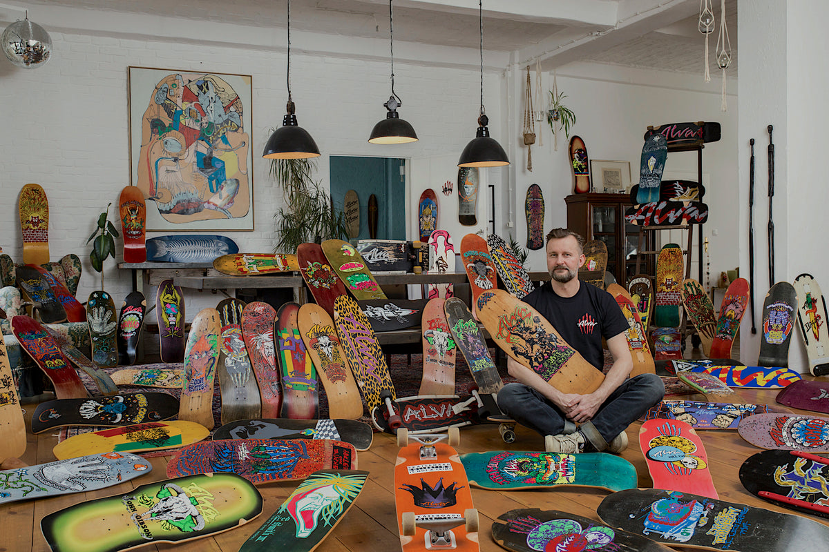 SKATEBOARD COLLECTING IS NOT A CRIME