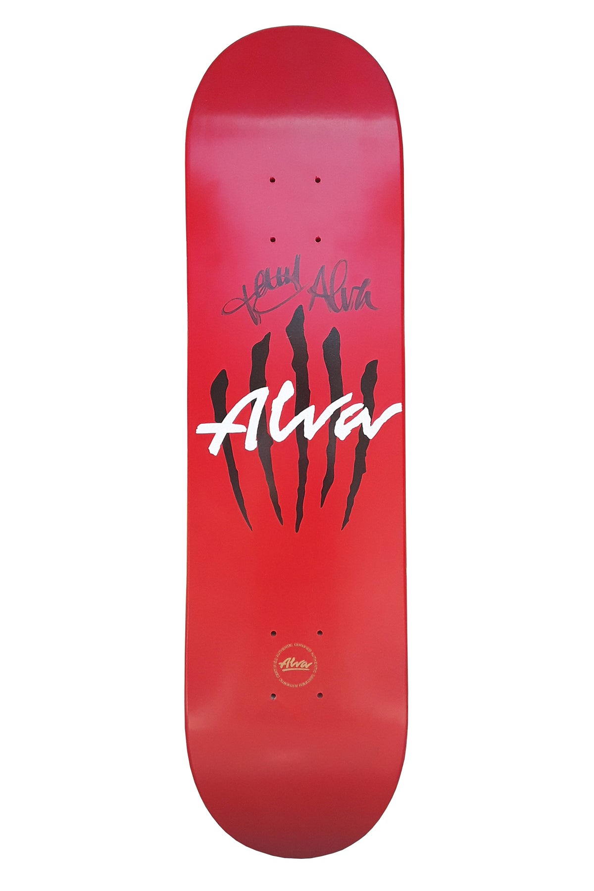 TONY ALVA SIGNED SCRATCH 8.0