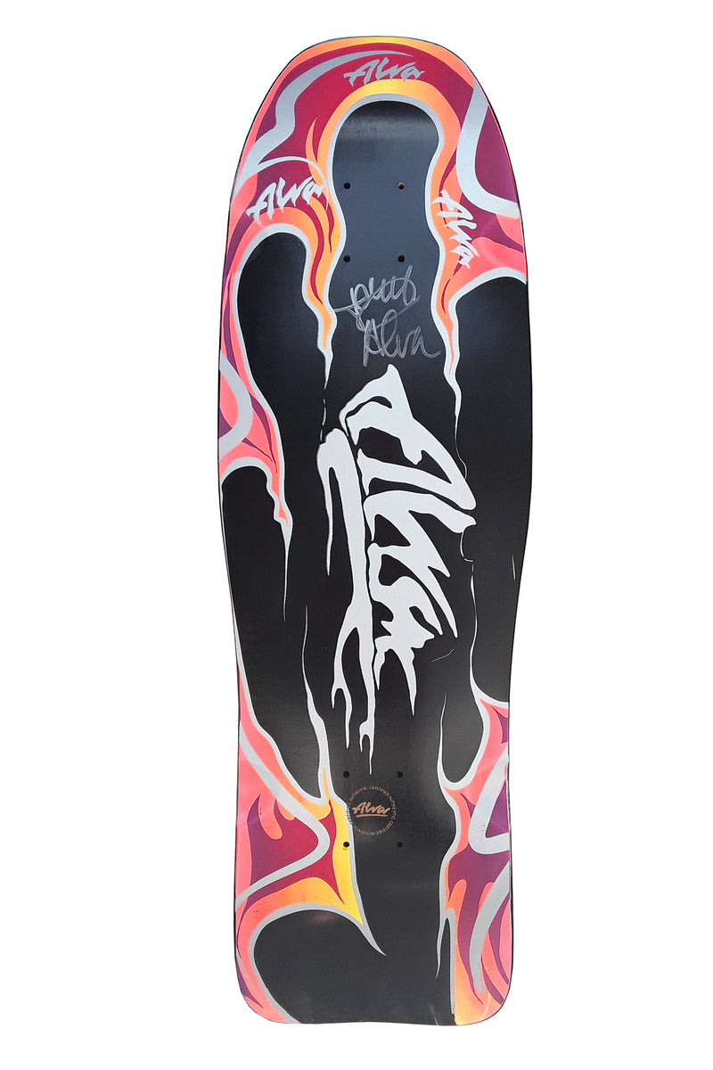 TONY ALVA SIGNED MODERN AGGRESSION FISH BLACK