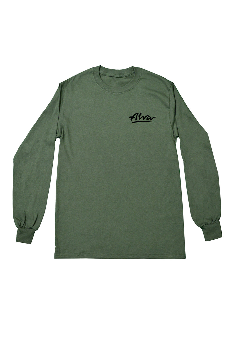 ALVA ARMY LOWKEY LOGO LONG SLEEVE