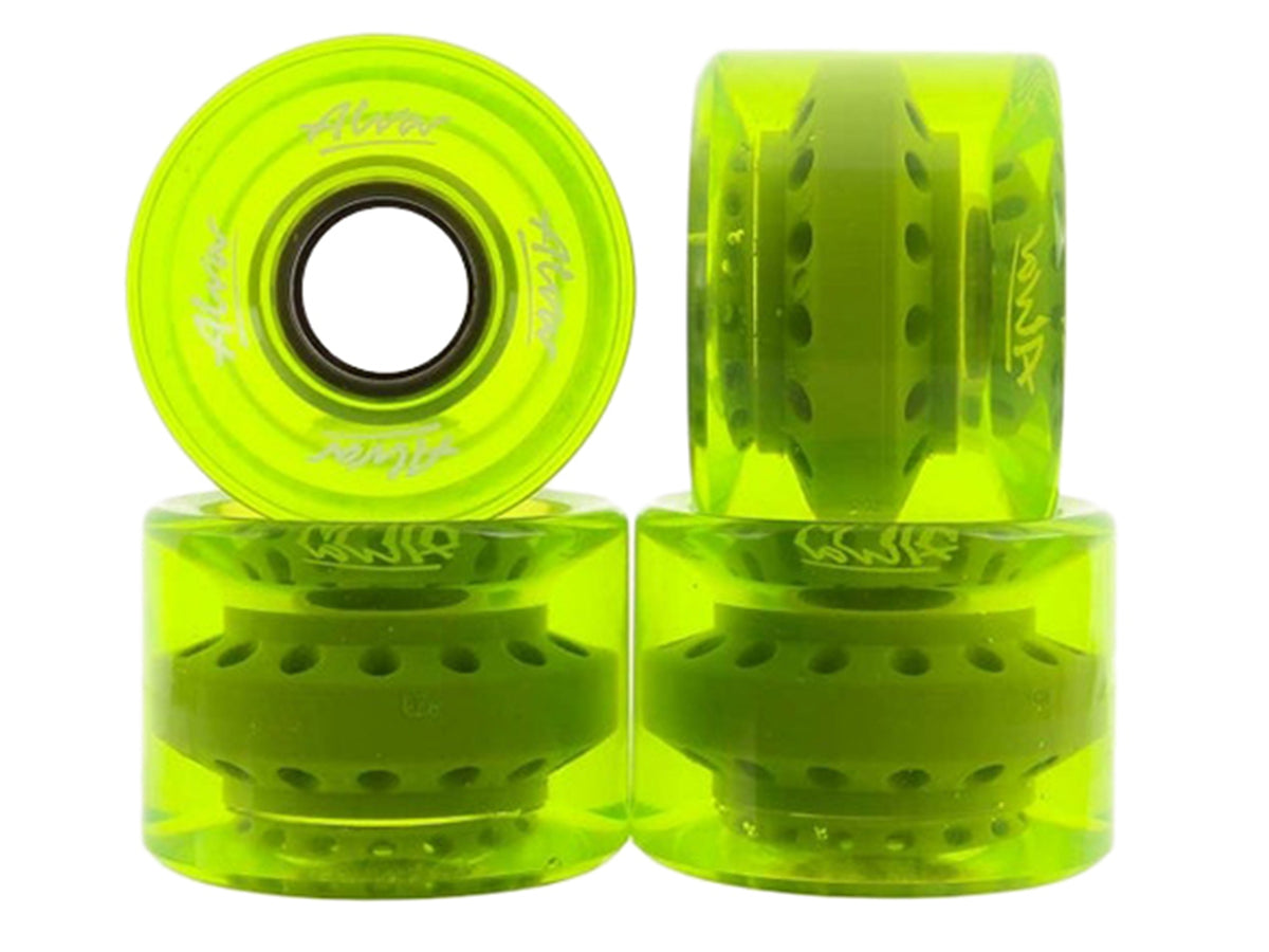 CRUISER WHEELS - CLEAR LIME