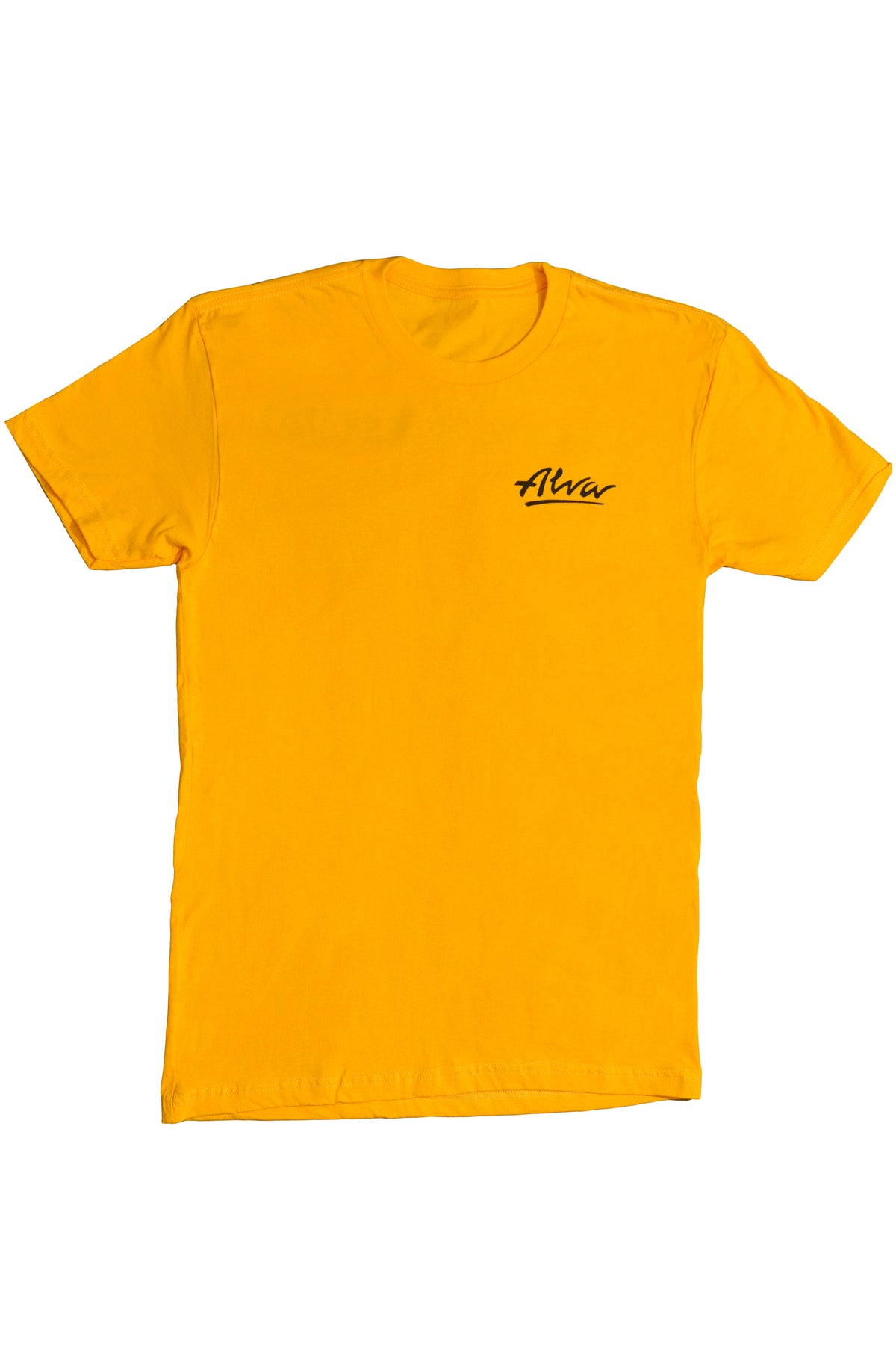 ALVA GOLD DOMINATE LOGO T-SHIRT