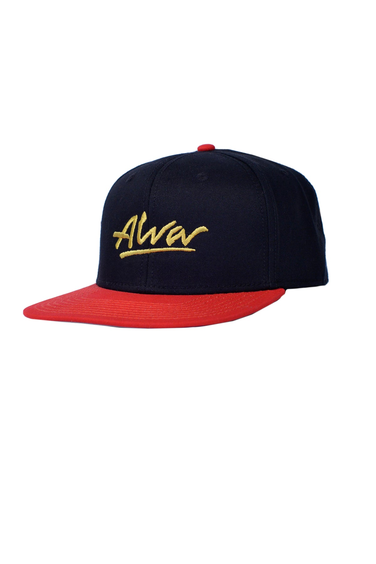 ALVA OG SNAPBACK - RED AND BLACK