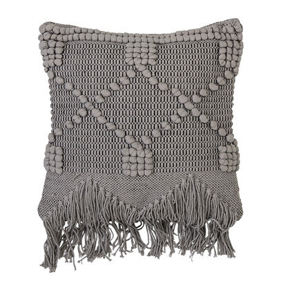 Bloomingville cushion grey square