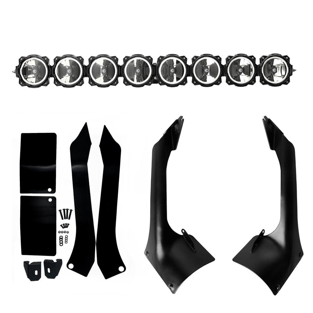 "Gravity® LED Pro6 Light Bar - 50"" 8-Ring for JL & JT"