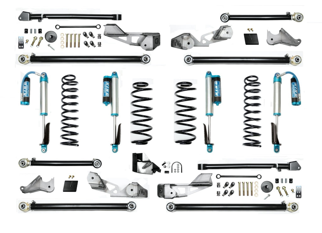 "3.5"" HIGH CLEARANCE LONG ARM SUSPENSION SYSTEM FOR JLU ( 4 DOOR ONLY )"