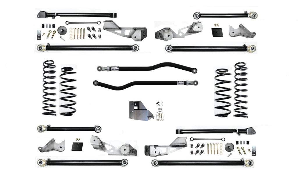 "3.5"" HIGH CLEARANCE LONG ARM SUSPENSION SYSTEM FOR DIESEL JLU ( 4 DOOR ONLY )"