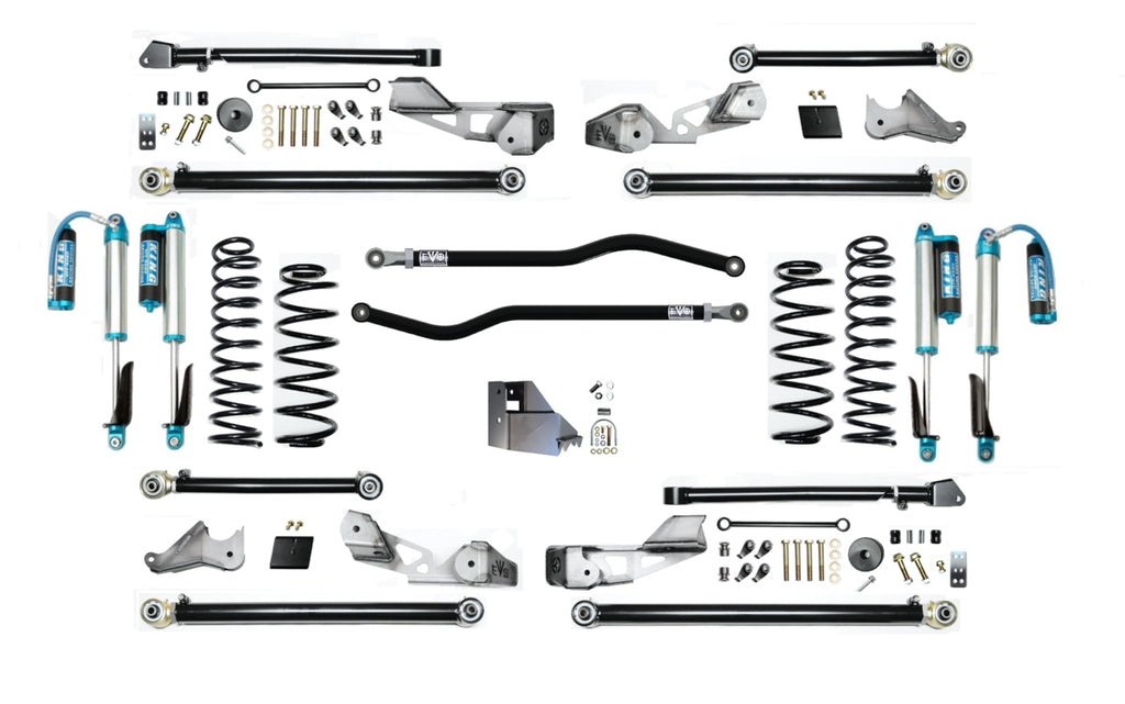 "4.5"" HIGH CLEARANCE LONG ARM SUSPENSION SYSTEM FOR JLU ( 4 DOOR ONLY )"