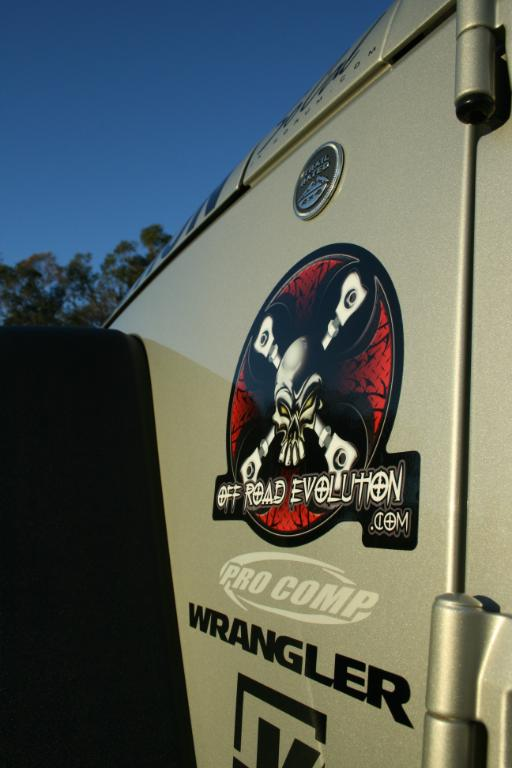 OFF ROAD EVOLUTION 8″ STICKER