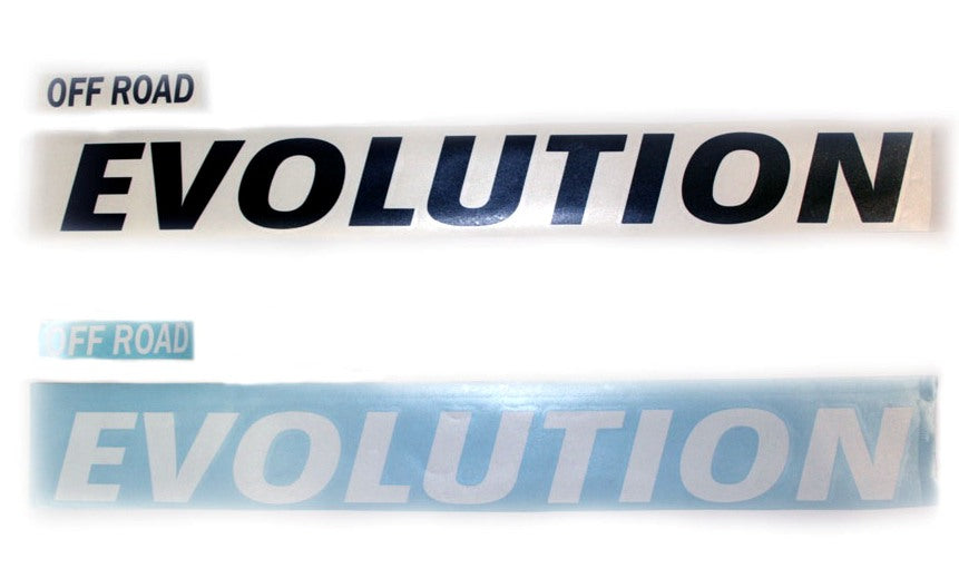 OFF ROAD EVOLUTION SIDE HOOD DECAL STICKER