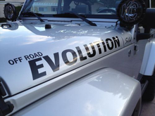 Load image into Gallery viewer, OFF ROAD EVOLUTION SIDE HOOD DECAL STICKER
