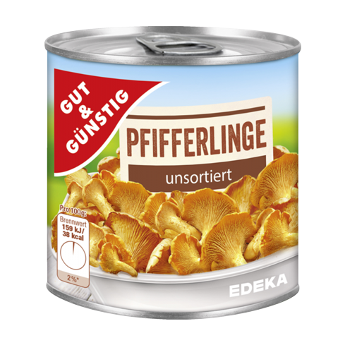 G&G Pfifferlinge unsortiert (290g)