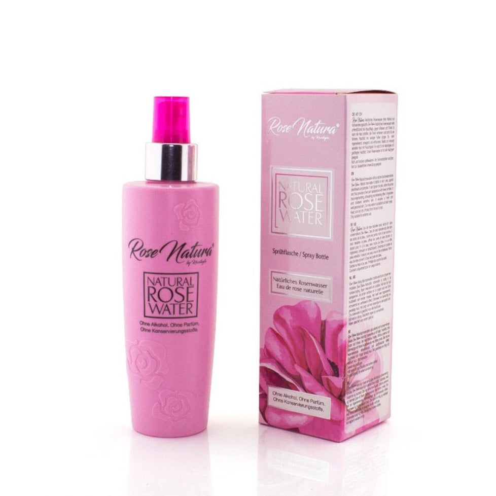 Natural Rose Water - Sprühflasche (225 ml)