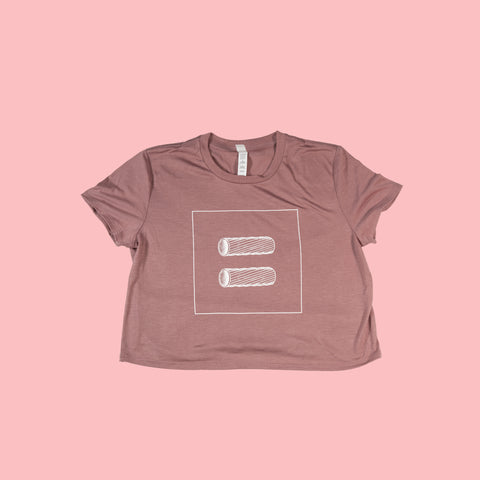Pasta Equality Women's Cropped Tee
