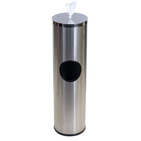Stainless Steel Sanitizing Wipes Dispenser