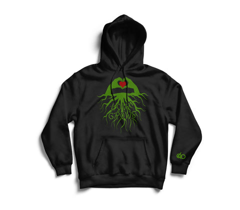 Love Grows Hoodie - Looptify