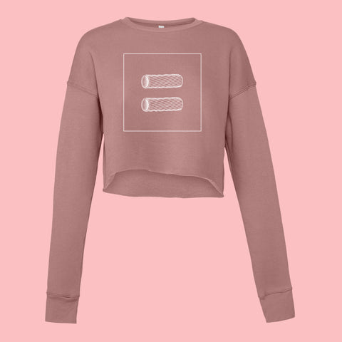 Pasta Equality Women's Cropped Fleece