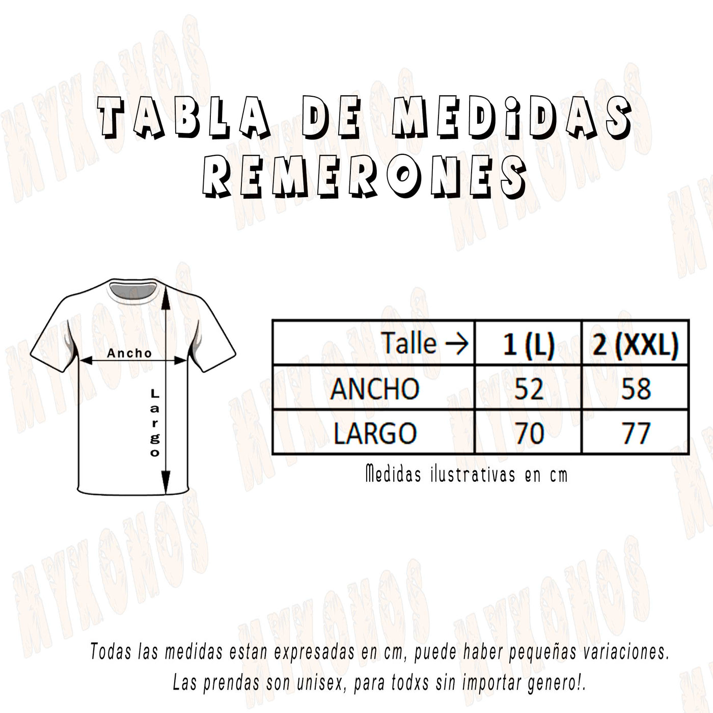 Remerón Lisa Unisex
