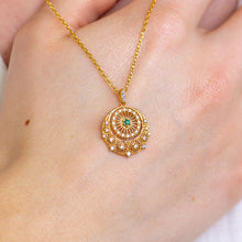 Load image into Gallery viewer, SUNBEAM Genuine Emerald Necklace