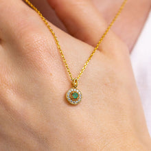 Load image into Gallery viewer, GRACE Genuine Emerald Necklace