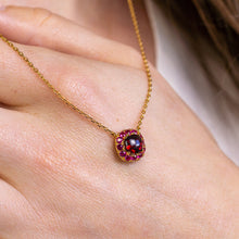 Load image into Gallery viewer, DEVOTION Garnet and Ruby Necklace