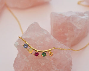 RAINBOW Opal Necklace