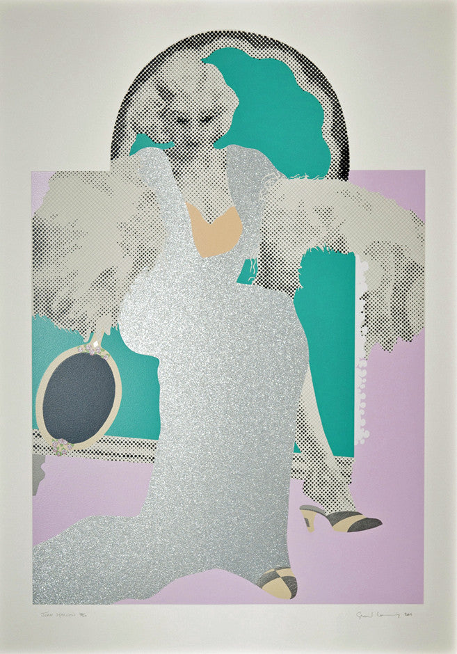 """JEAN HARLOW"" by GERALD LAING, 2011"