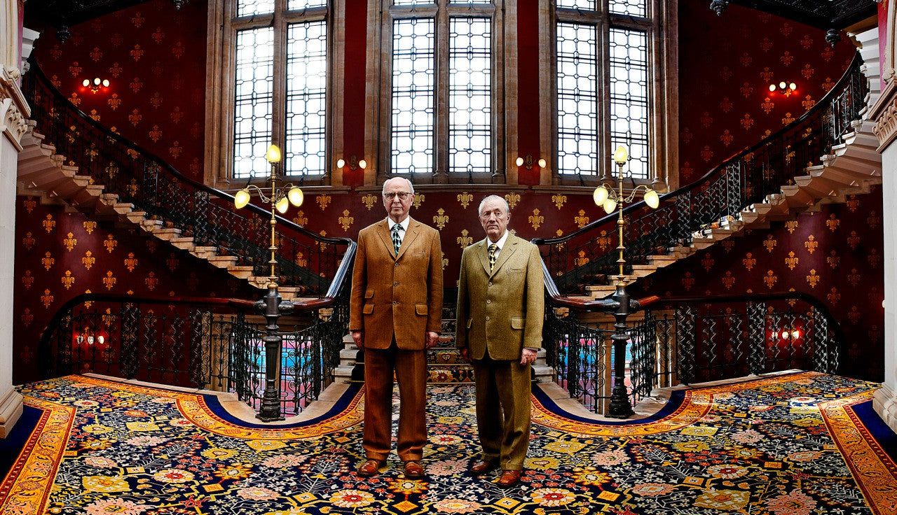"""GILBERT & GEORGE"" by ANDY TEARE, 2012"