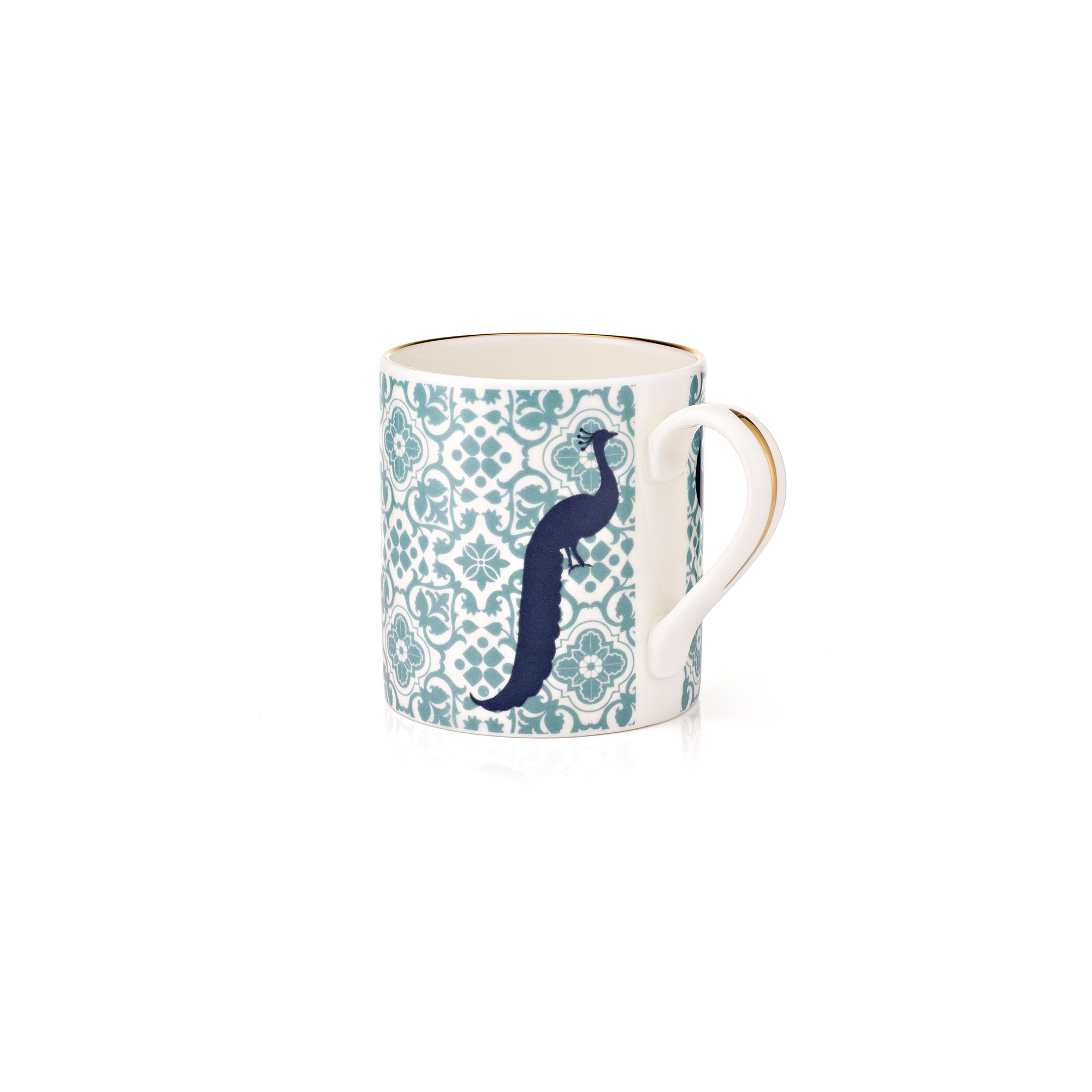 Mug with Peacocks