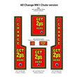 All Change Leeds Mk1 Changer Replacement Artwork Kit - 2p / 10p / £1 Versions