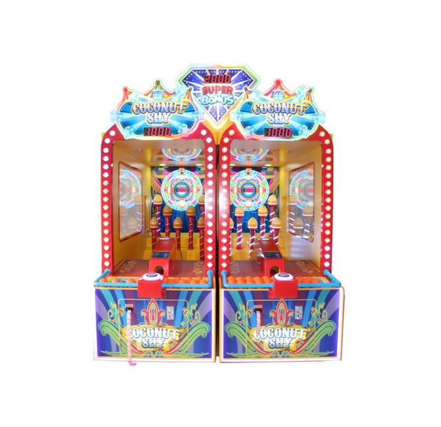 UNIS Coconut Shy - Arcade Funfair Throwing Game