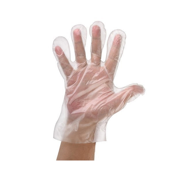 MDPE Disposable Gloves (x100) - High Tear Resistant
