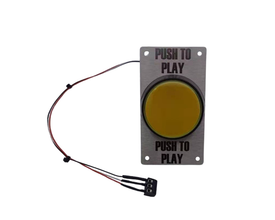 Push To Play / Free Play Button - 115/155mm