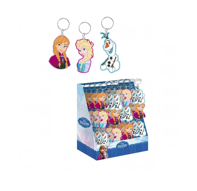 Disney Frozen Rubber Keychain / Keyring - Assorted Mix (x72)