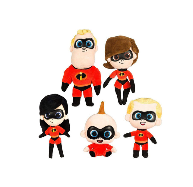 "Disney Incredibles 2  - 12"" / Size 3 - Assorted Licensed Prize Plush Toy (x30)"