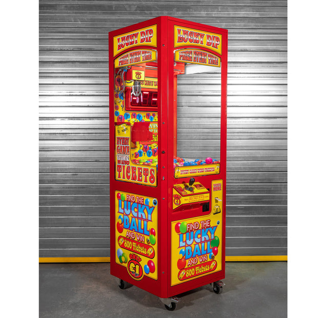Lucky Dip Prize Every Time - Ticket Crane Grabber Machine