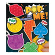 "Pop Me Fidget Toys - 3"" Sensory Stress Reliever (x60) -The Latest Craze for 2021!"