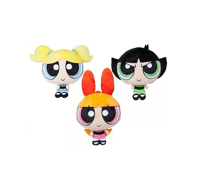 "Powerpuff Girls  - 12"" / Size 3 - Assorted Licensed Prize Plush Toy (x24)"