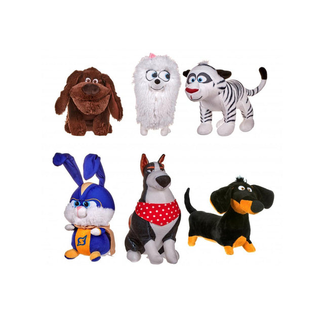 "Secret Life Pets  - 12"" / Size 3 - Assorted Licensed Prize Plush Toy (x36)"