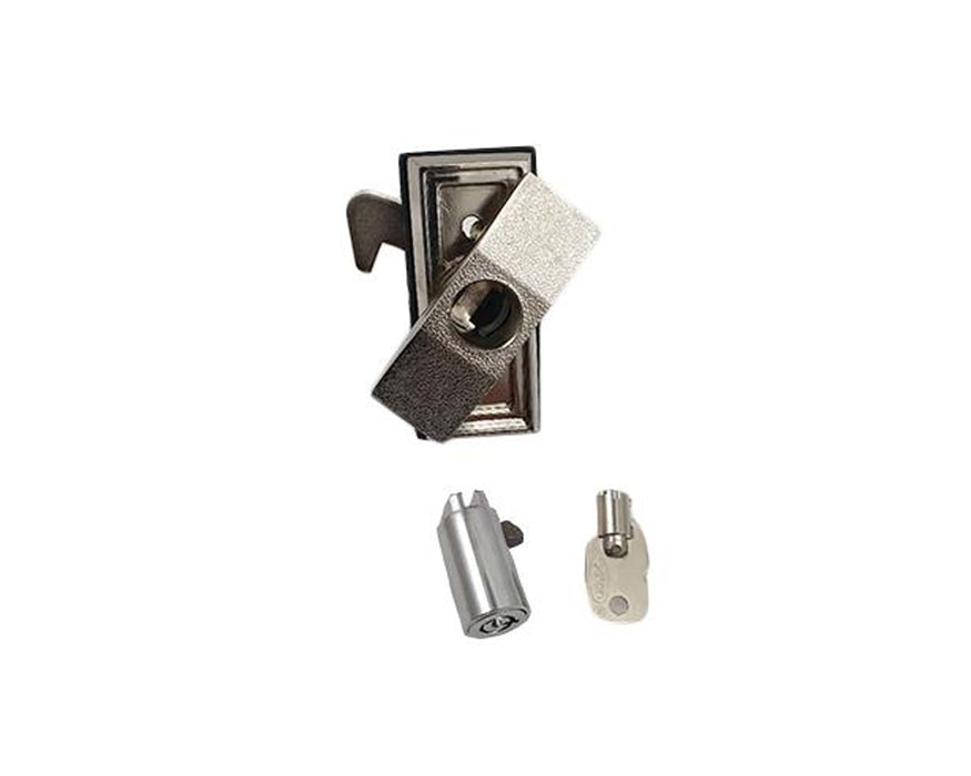 All Change Leeds Complete T-Bar Lock & Key Assembly - Change Machine Spares