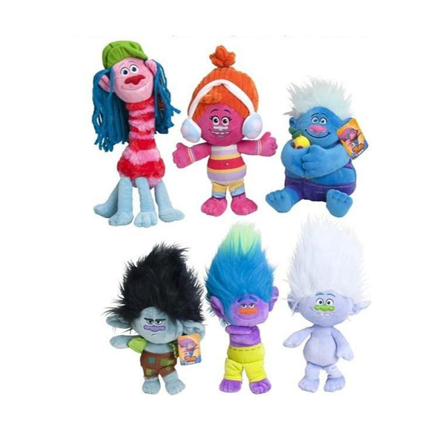 "Trolls  - 6"" / Size 1 - Assorted Licensed Prize Plush Toy (x120)"