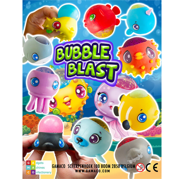 Bubble Blast (x500) 50mm Vending Prize Capsules