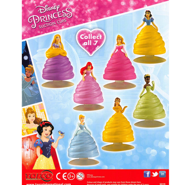 Disney Princess Suction Cups (x600) 50mm Vending Prize Capsules