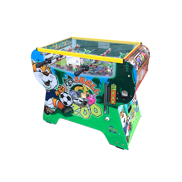 Zoo Foosball - Bouncy Ball Football Table Vending Machine