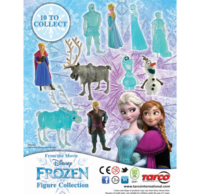 Frozen Figurine Collection (x600) 50mm Vending Prize Capsules