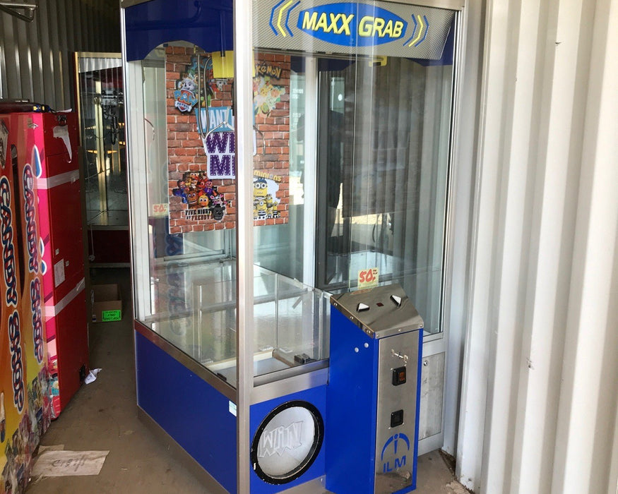 Copy of Used Maxx Grab Mk2 Blue Crane Grabber Machine - Good Condition