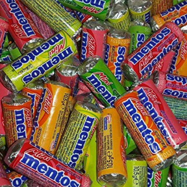 Mini Mentos Bulk (3kg) - Suitable for Vending & Prizes