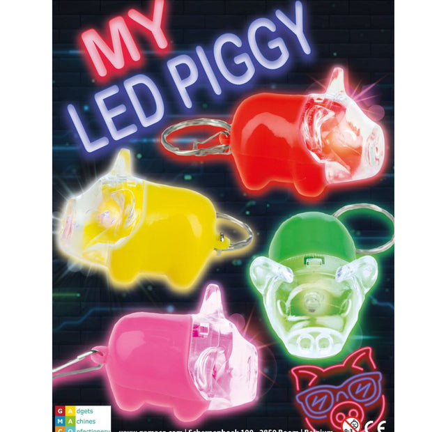 My LED Piggy Pigs (x500) 50mm Vending Prize Capsules
